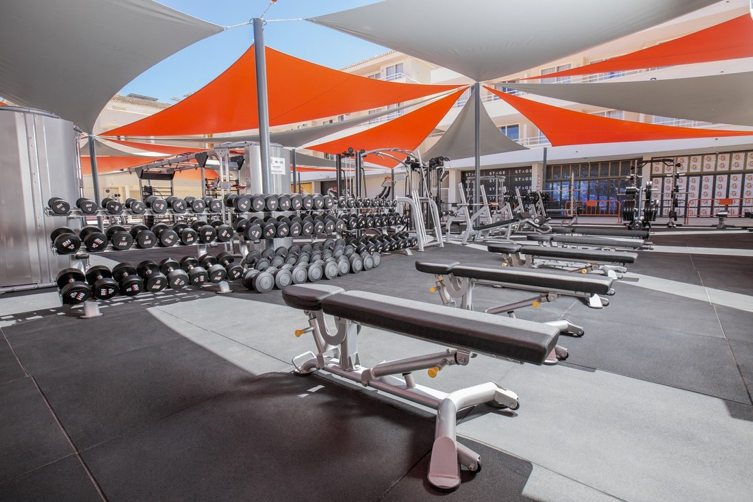 Outdoor Gym Hotel Bh Mallorca Hotel In Magaluf